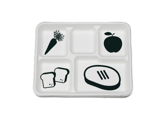 tray & food